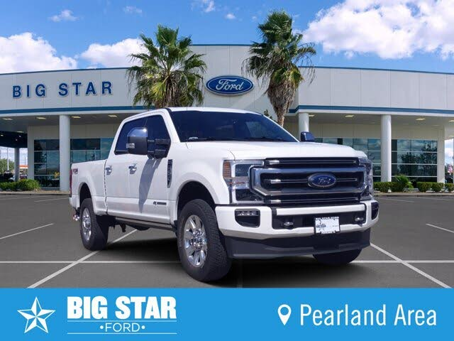 2020 Ford F-250 Super Duty Platinum Crew Cab 4WD