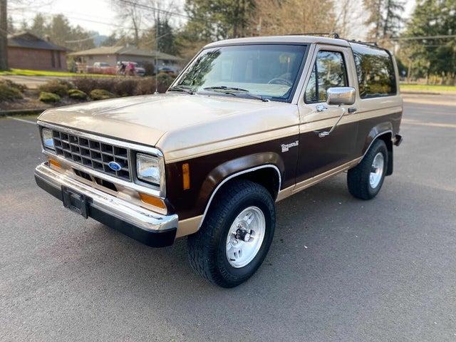 1987 Ford Bronco II XLT 4WD