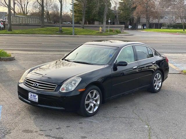 2006 INFINITI G35 Sedan RWD
