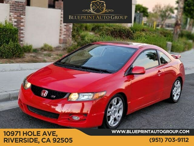 2009 Honda Civic Coupe Si with Summer Tires