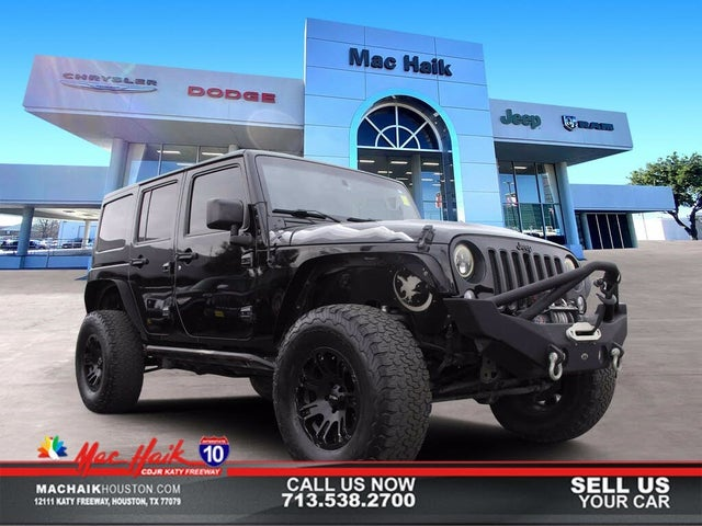 2015 Jeep Wrangler Unlimited X 4WD