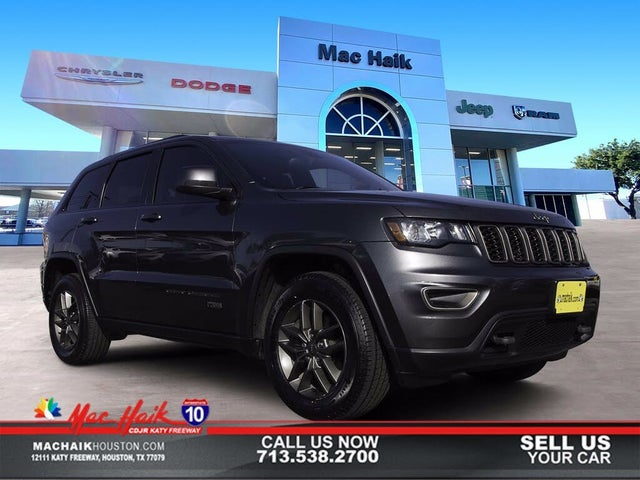 2016 Jeep Grand Cherokee Laredo 75th Anniversary