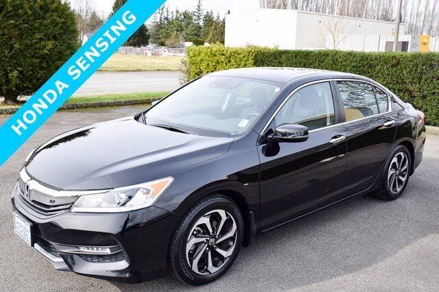 2017 Honda Accord EX FWD with Honda Sensing