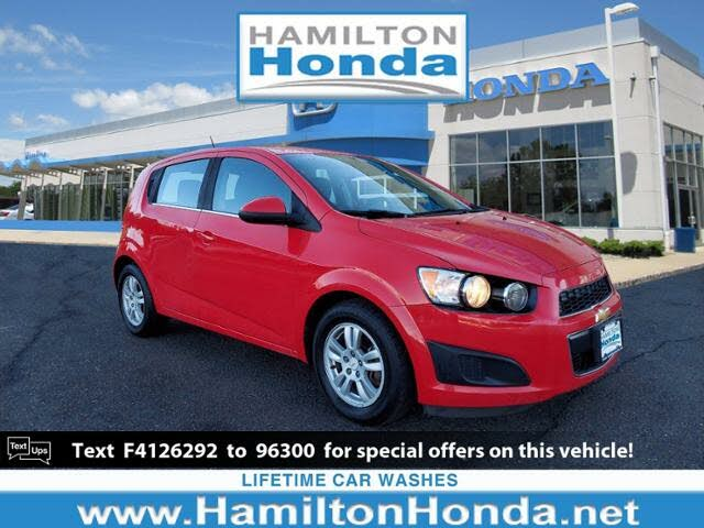 2015 Chevrolet Sonic LT Hatchback FWD