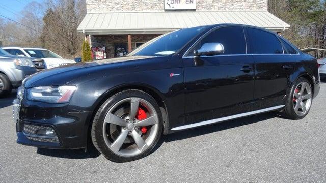 2013 Audi S4 3.0T quattro Premium Plus Sedan AWD