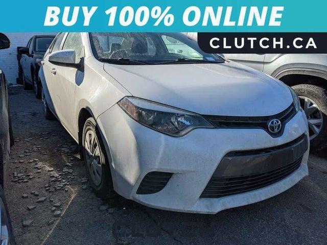 2016 Toyota Corolla Eco