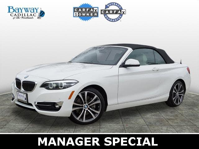 2019 BMW 2 Series 230i Convertible RWD
