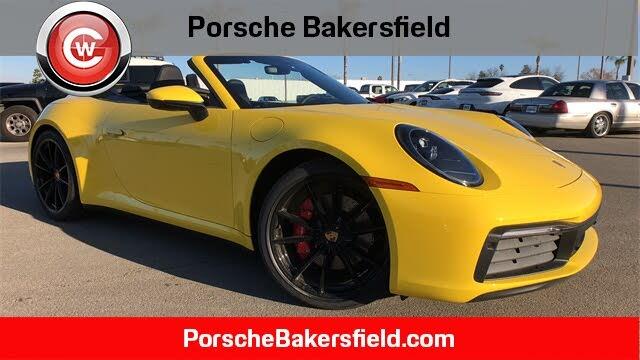 2021 Porsche 911 Carrera S Cabriolet RWD