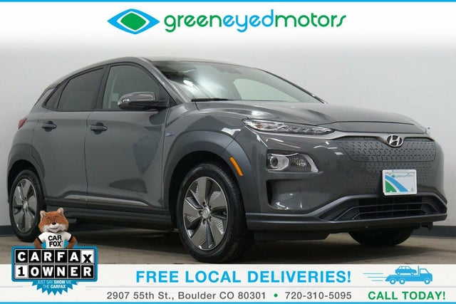 2019 Hyundai Kona Electric Limited FWD