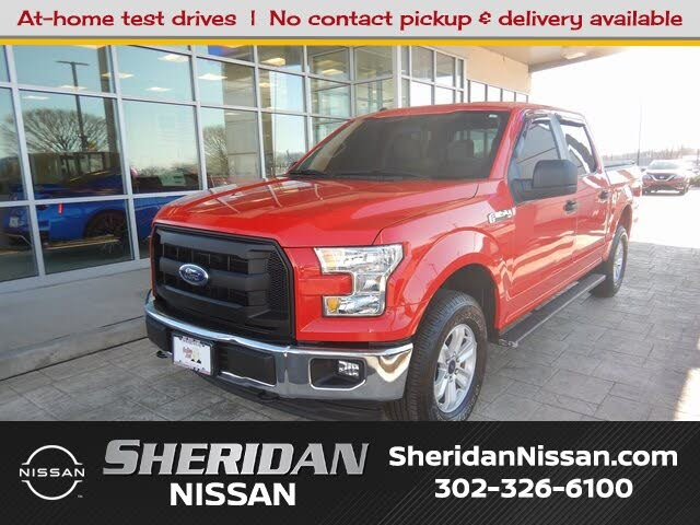 2017 Ford F-150 XL SuperCrew 4WD