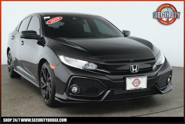 2019 Honda Civic Hatchback Sport Touring FWD