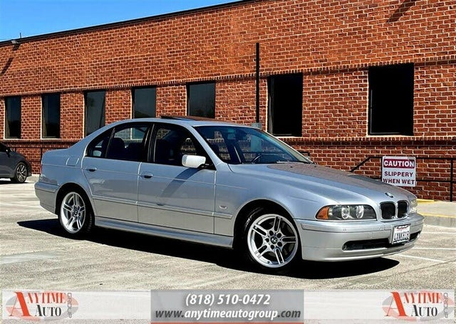 2002 BMW 5 Series 540i Sedan RWD