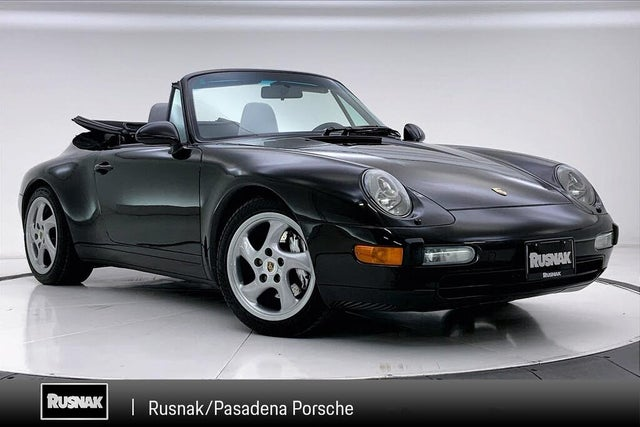 1997 Porsche 911 Carrera 4 Convertible AWD