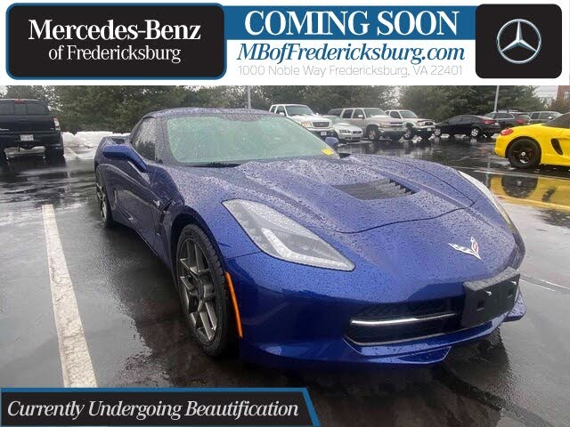 2017 Chevrolet Corvette Stingray 1LT Coupe RWD