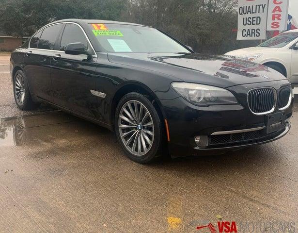 2012 BMW 7 Series 740i RWD