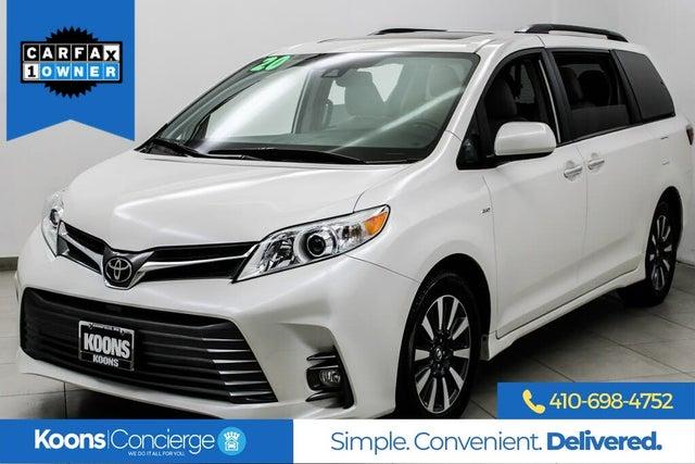 2020 Toyota Sienna XLE 7-Passenger AWD