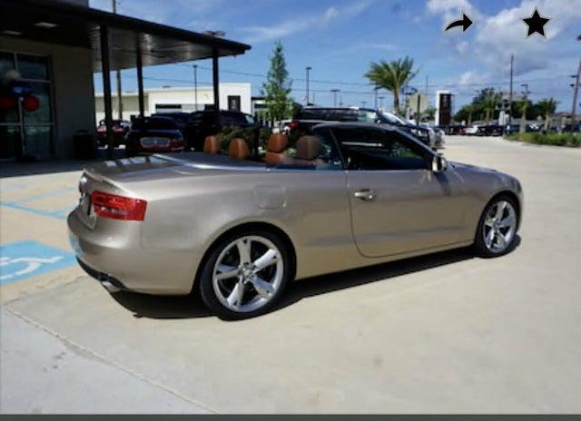 2011 Audi A5 2.0T quattro Premium Cabriolet AWD
