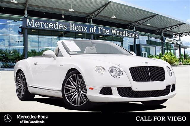 2014 Bentley Continental GTC Speed AWD