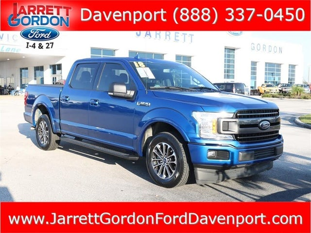 2018 Ford F-150 XLT SuperCrew RWD