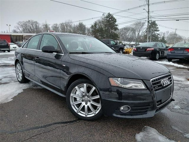 2012 Audi A4 2.0T quattro Premium Plus Sedan AWD
