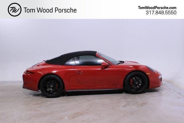 2015 Porsche 911 Carrera GTS Cabriolet AWD