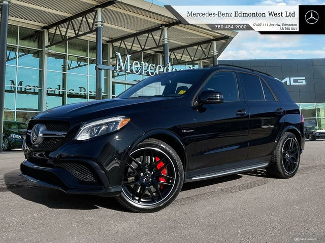 2017 Mercedes-Benz GLE-Class GLE AMG 63 4MATIC S-Model
