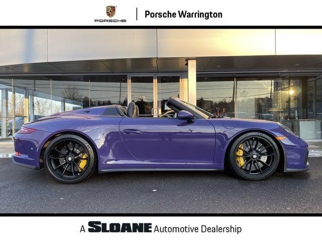 2019 Porsche 911 Speedster Cabriolet RWD