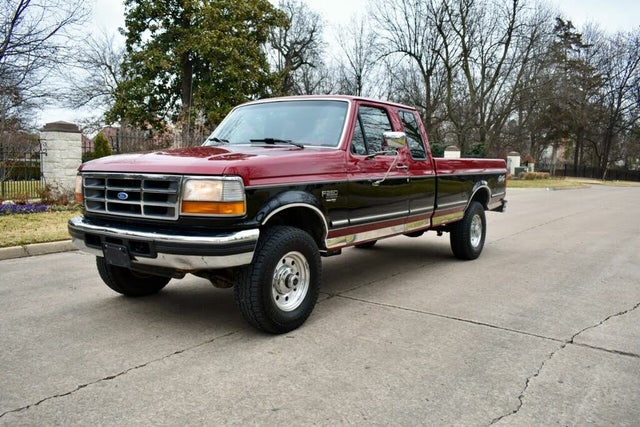 1995 Ford F-250 2 Dr XLT 4WD Extended Cab LB