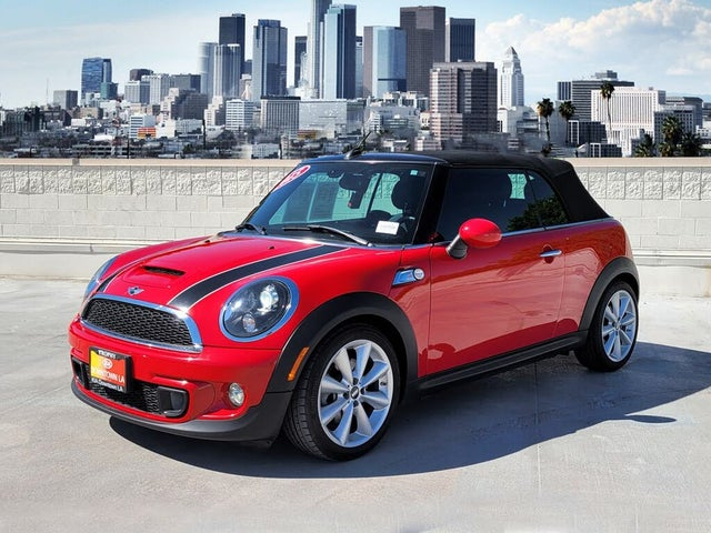 2015 MINI Cooper S Convertible FWD