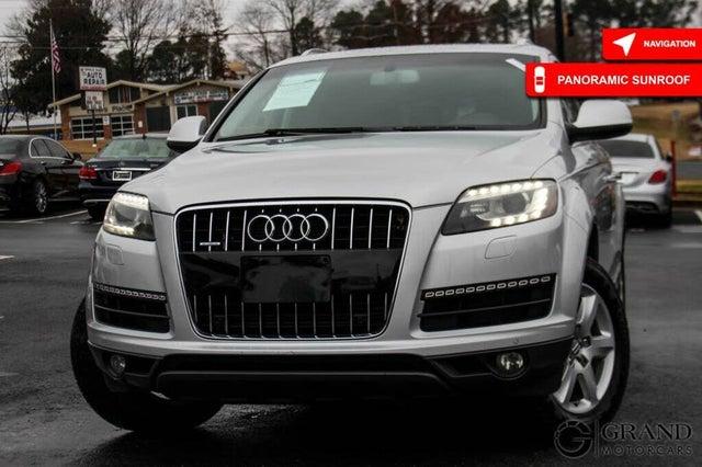 2012 Audi Q7 3.0T quattro Premium Plus AWD