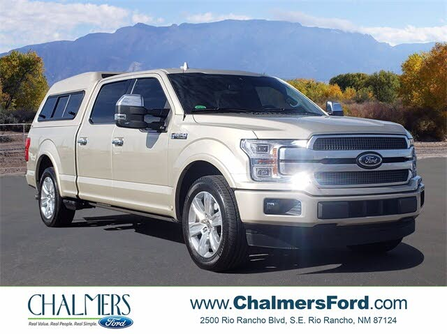 2018 Ford F-150 Platinum SuperCrew RWD