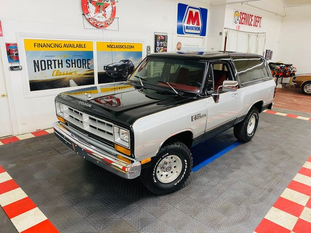 1986 Dodge Ramcharger 150 4WD