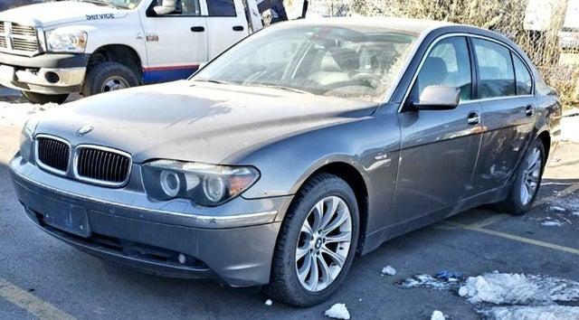 2005 BMW 7 Series 745Li RWD