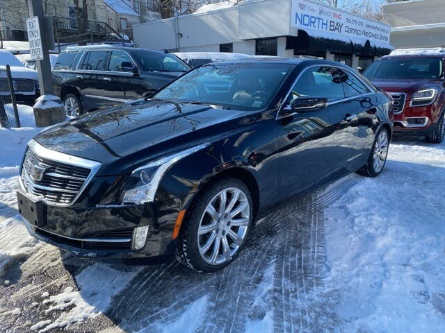 2018 Cadillac ATS Coupe 3.6L Premium Luxury AWD