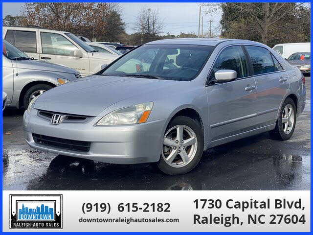 2005 Honda Accord EX with Leather