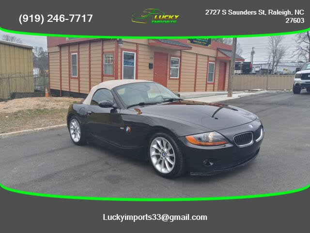 Used Bmw Z4 For Sale In Raleigh Nc Cargurus