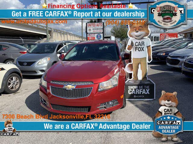 Used Chevrolet Cruze For Sale In Jacksonville Fl Cargurus