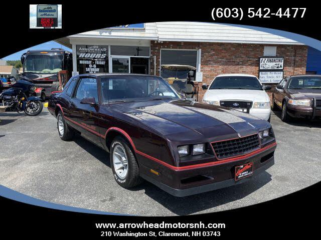 1986 Chevrolet Monte Carlo SS RWD