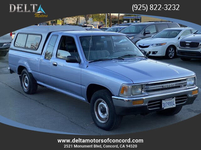 1989 Toyota Pickup 2 Dr Deluxe V6 Extended Cab SB