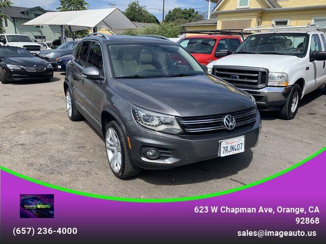 2012 Volkswagen Tiguan SEL with Premium Navigation