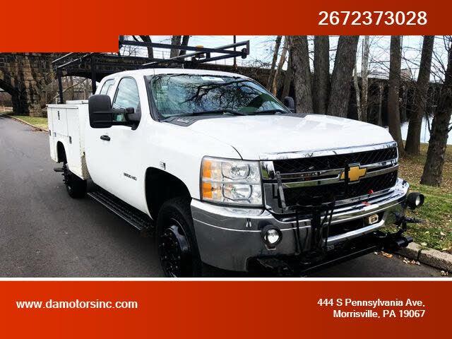 2012 Chevrolet Silverado 3500HD Work Truck Extended Cab LB 4WD