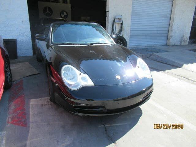 2004 Porsche 911 Carrera 4 Convertible AWD
