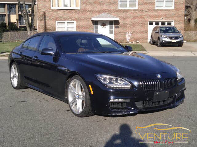 2015 BMW 6 Series 650i Gran Coupe RWD