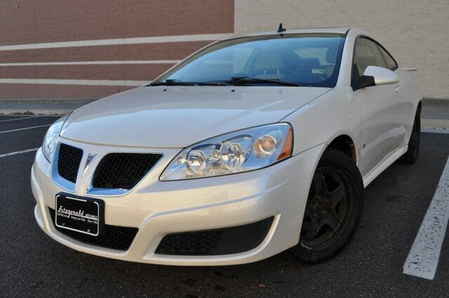 2009 Pontiac G6 Base Coupe