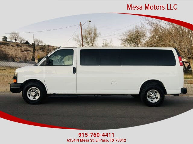 2018 Chevrolet Express 3500 LS Extended RWD