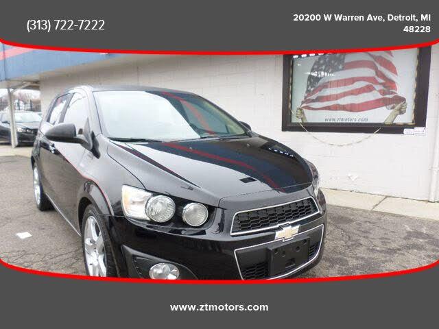 2012 Chevrolet Sonic LTZ 2LZ Hatchback FWD