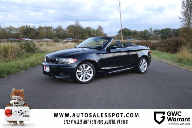 2009 BMW 1 Series 135i Convertible RWD