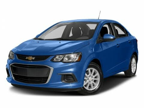 2017 Chevrolet Sonic LT Sedan FWD