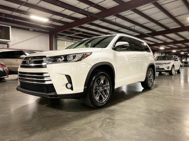 2017 Toyota Highlander Limited Platinum AWD