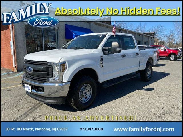 2018 Ford F-350 Super Duty XL Crew Cab LB 4WD